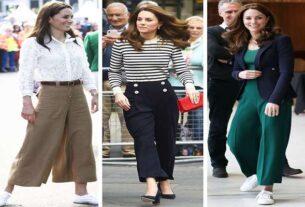 Gorący trend prosto od księżnej Kate - sprawdź jak nosić spodnie culottes